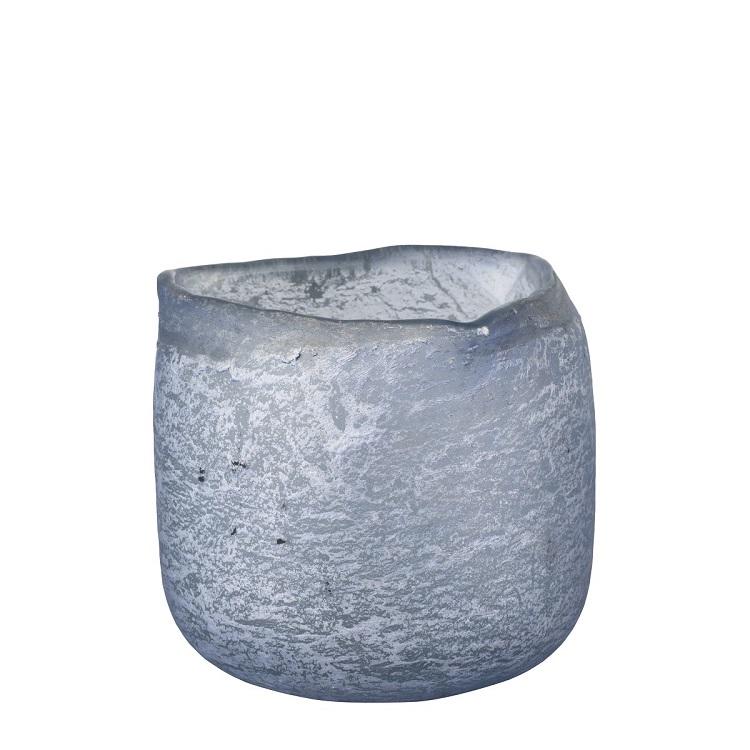 ljuslykta ljusblå glas lene bjerre
