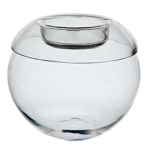 värmeljuslykta klarglas