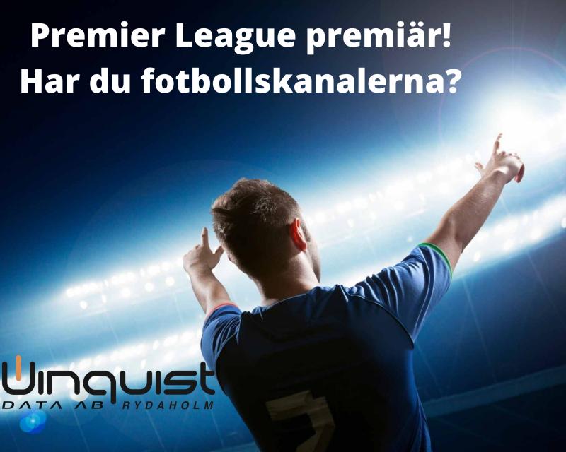 Har du fotbollskanalerna?