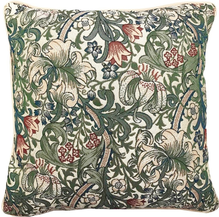 Kudde Golden Lily  William Morris