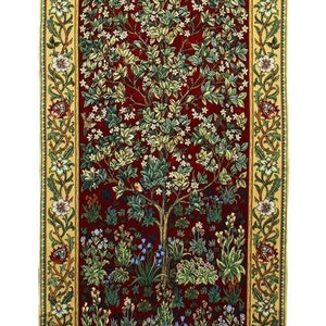 Bonad Tree of Life Red              William Morris