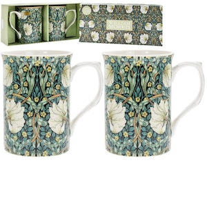 2-mugg Pimpernel          William Morris