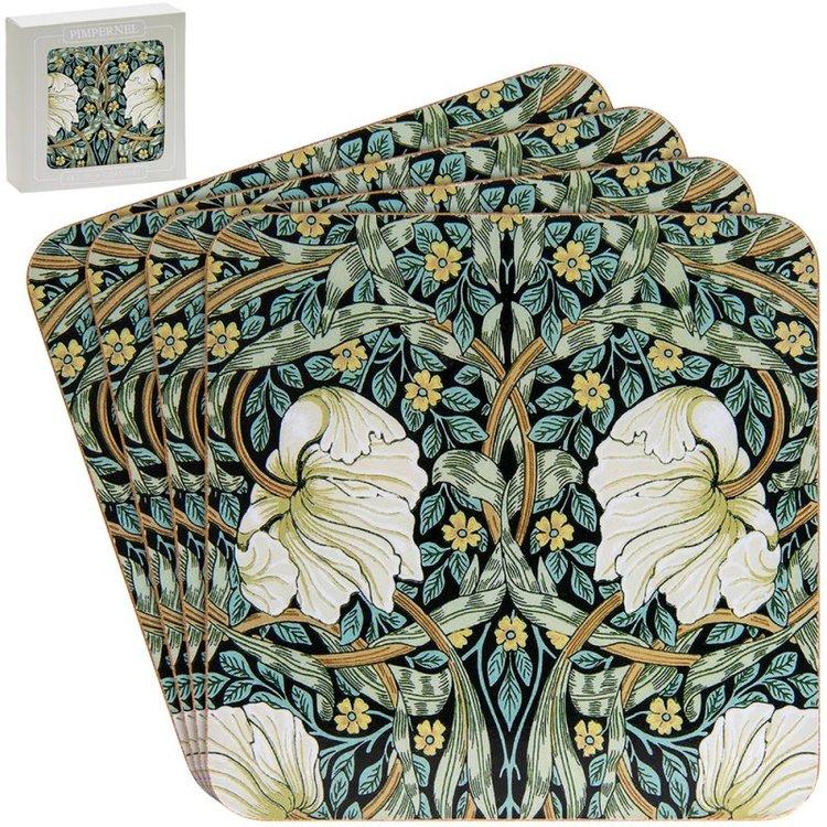 Coaster Pimpernel          William Morris