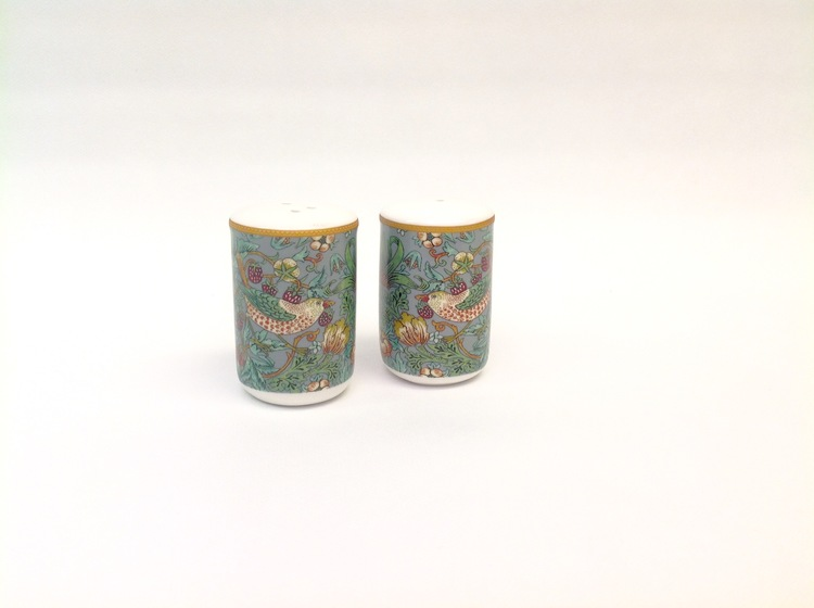 Salt & Peppar Teal           William Morris