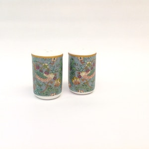 Salt & Peppar Teal           William Morris