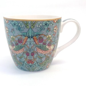 Jumbokopp Teal               William Morris