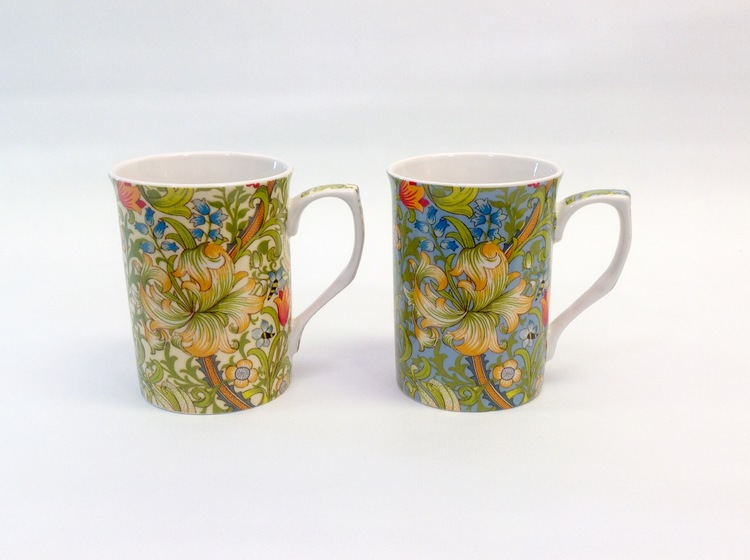 2-mugg Golden Lily Mix           William Morris