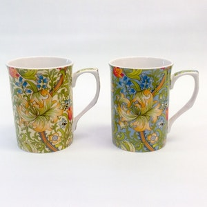 2-mugg Golden Lily Mix           William Morris