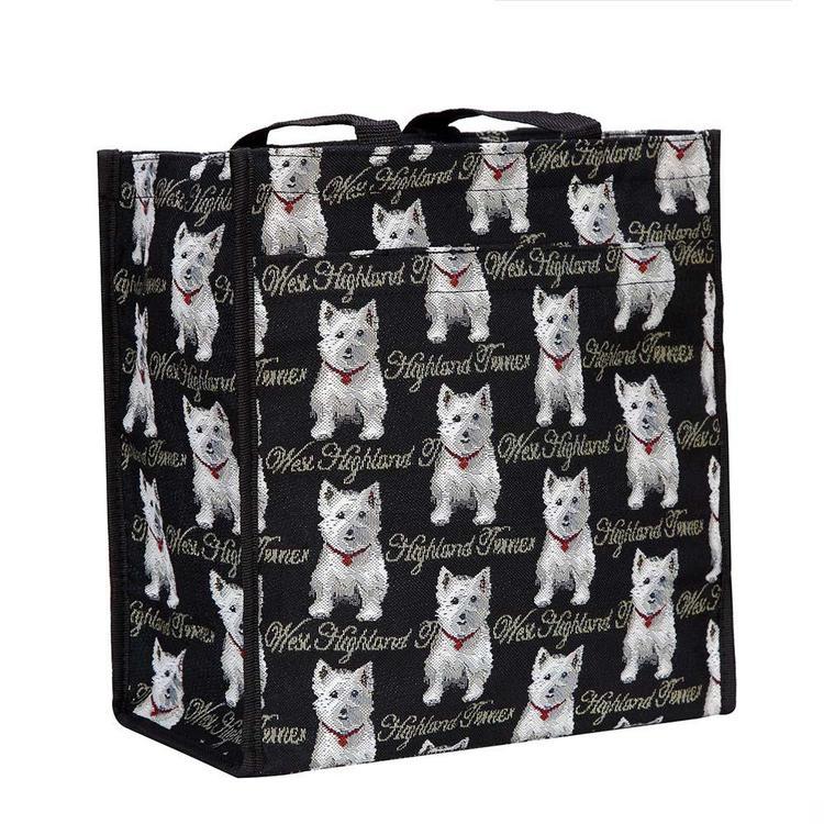Shopper Vit Hund