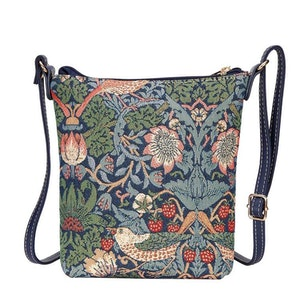 Slingbag Strawberry Blue        William Morris