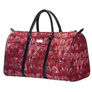 Week End Bag Röd Ros         Mackintosh