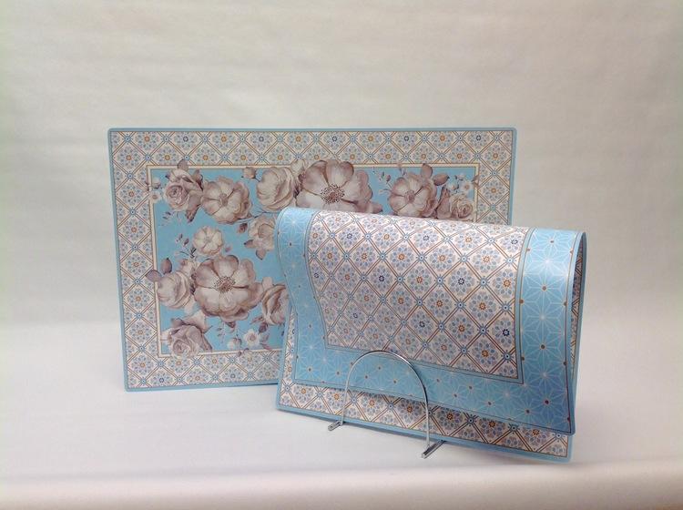 Bordstablett Blue Baroque