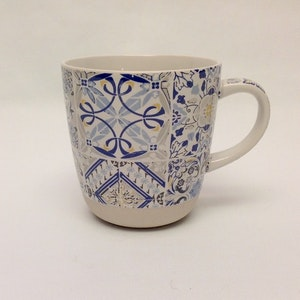 1-mugg Casa Decor Blue