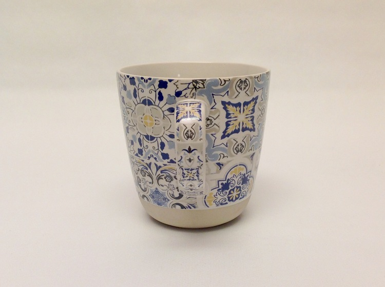 1-mugg Casa Decor Blue