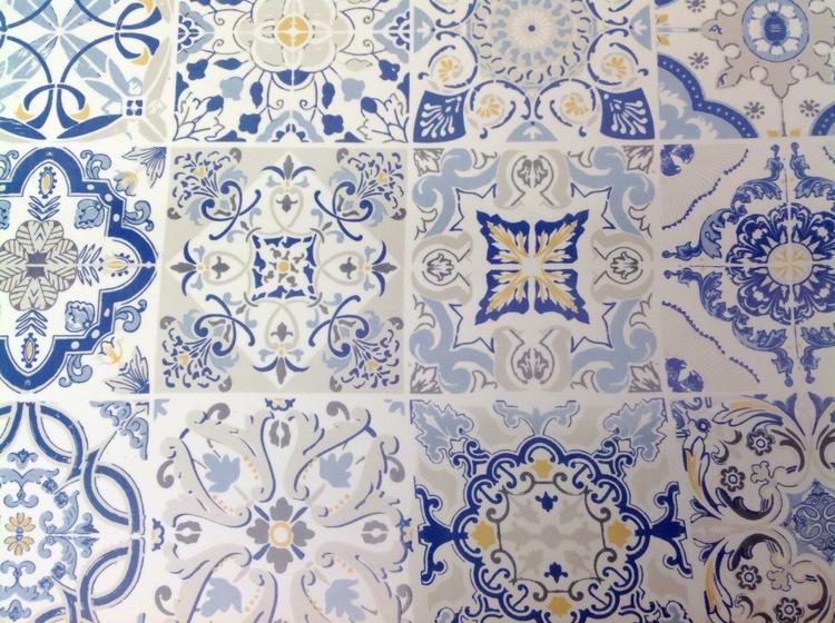Uppläggningsfat Casa Decor Blue