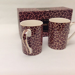 2-mugg Leopard
