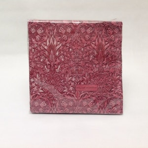 Servetter Snakeshead Red           William Morris