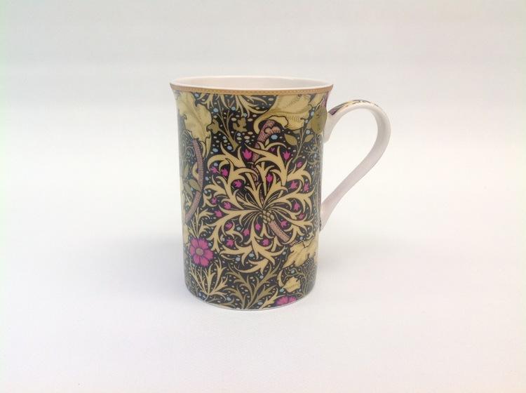 1-mugg Seaweed        William Morris