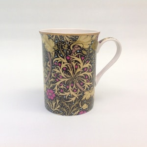 1-mugg Seaweed        William Morris