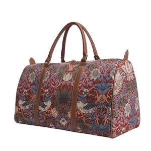Week End Bag Strawberry Red       William Morris