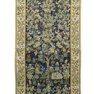 Bonad Tree of Life Blue             William Morris