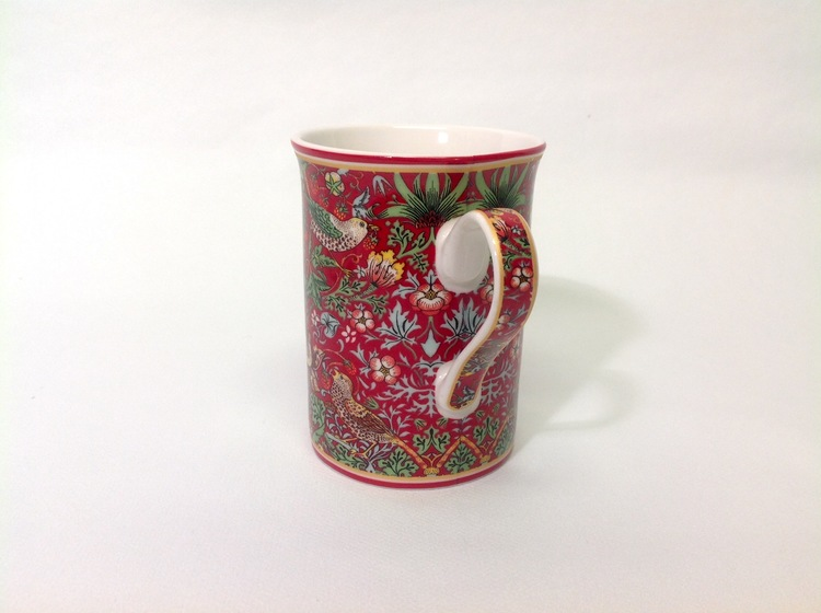 1-mugg Strawberry Red New          William Morris