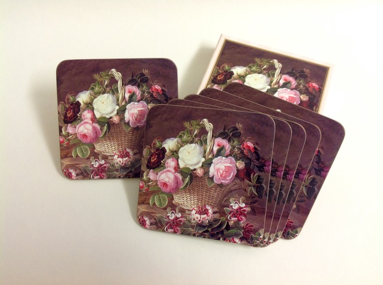 Coaster Old England Roses