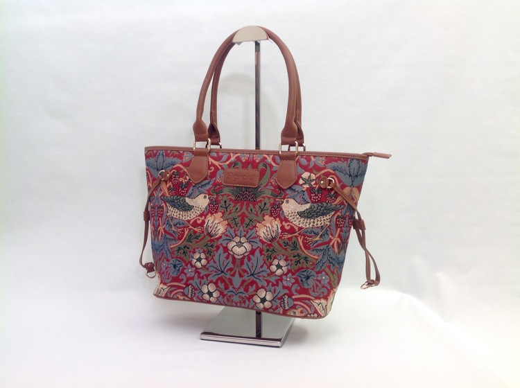 Tote Strawberry Red         William Morris