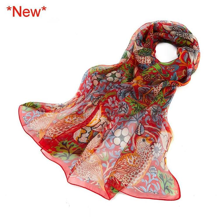 Scarf Strawberry Red