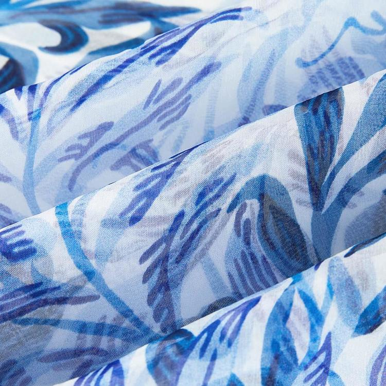 Scarf Willow Blue