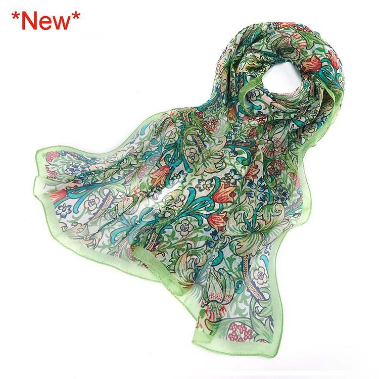 Scarf Golden Lily