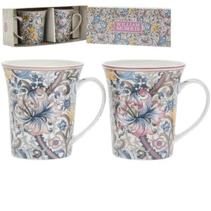 2-mugg Golden Lily Jenny         William Morris
