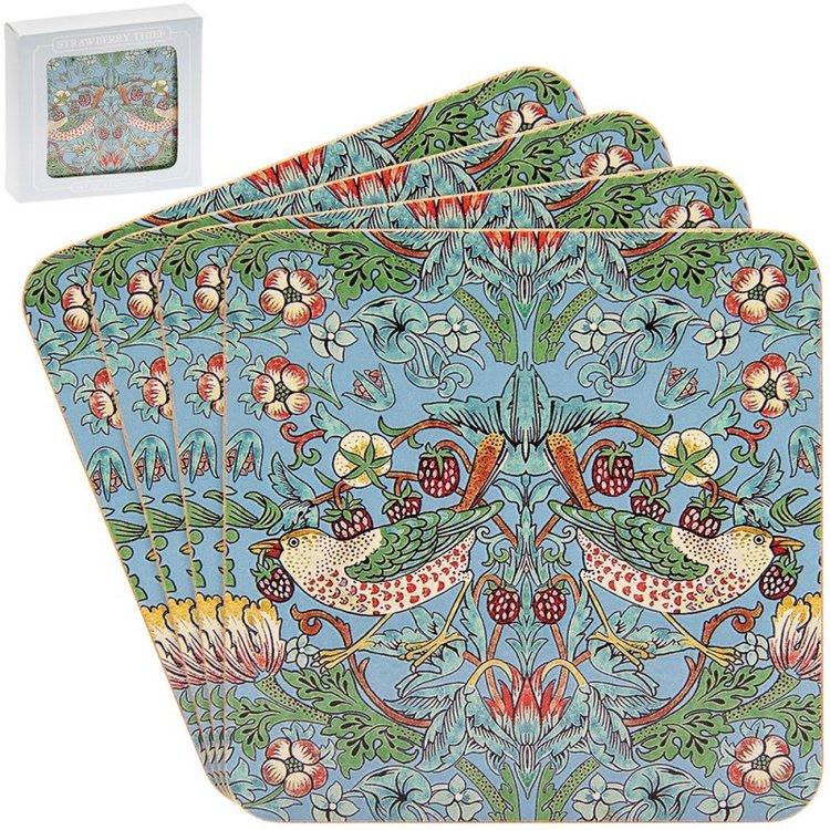 Coaster Teal          William Morris