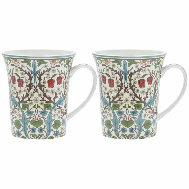2-mugg Blackthorn              William Morris