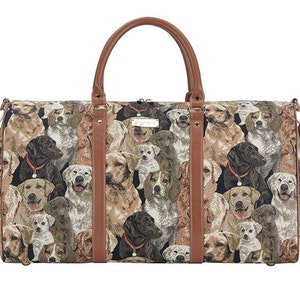 Week End Bag Brun Hund