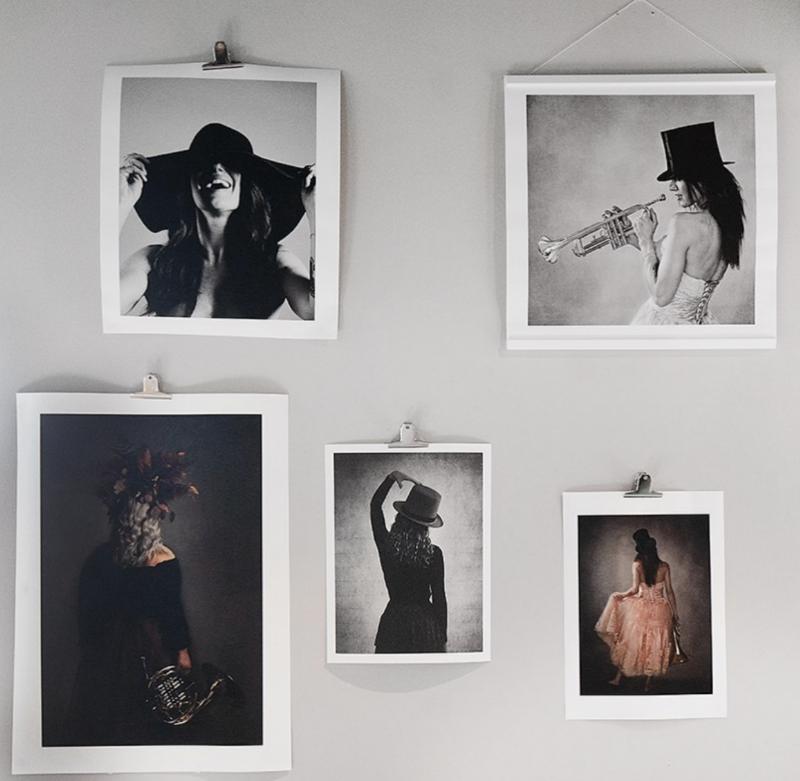 Bygga Fotovägg med fine art posters