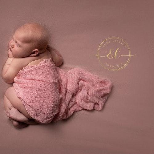 Nyföddfotografering lyx