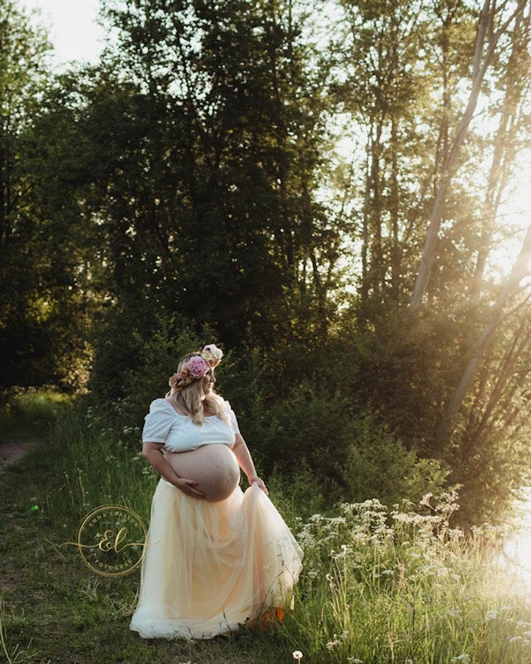 Gravidfotografering Bas