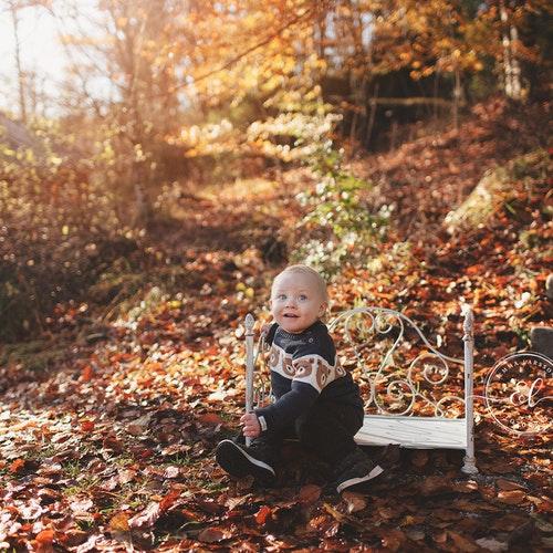 Barnfotografering bas