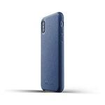 Läderfodral iPhone X/XS - Blå