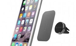 Satechi Magnet Vent Mount – magnetisk bilmontering för alla smartphones Silver