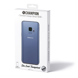 Champion Slim Cover Galaxy S9 Transparent