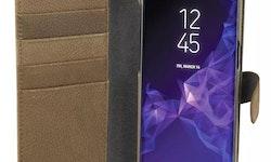 CHAMPION Wallet Läder Samsung Galaxy S9 Coffee