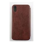 Plånboksfodral - Fashion Case - iPhone X - Brunt