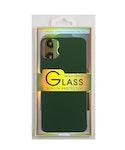 Glass screen protector back - Glas skydd till baksida iPhone 11 - Grön