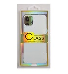 Glass screen protector back - Glas skydd till baksida iPhone 11 Pro - Vit