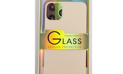 Glass screen protector back - Glas skydd till baksida iPhone 11 Pro Max - Rosé guld