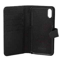 Champion Wallet case Läder iPhone XS Max - Svart