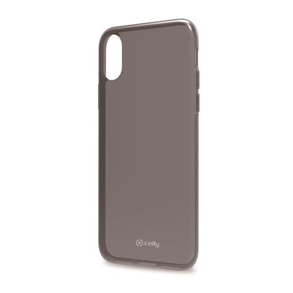 Celly Gelskin Skal för iPhone XS Max - Svart