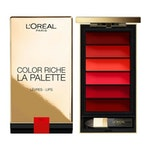 L'Oreal Color Riche Lip Palette - Red